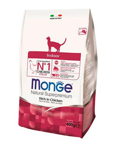 Monge Cat Indoor корм для домашних кошек 400 г
