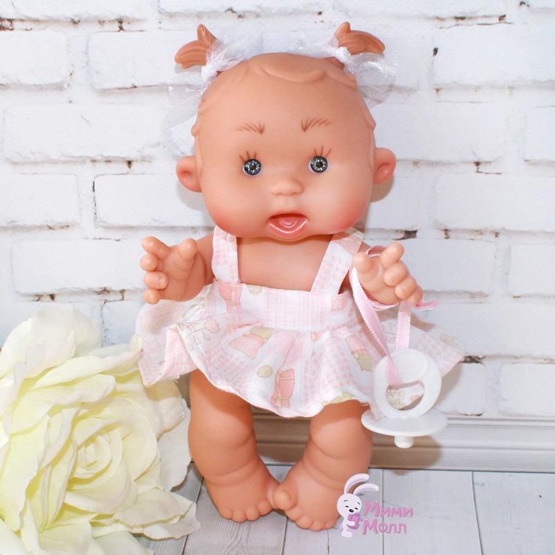 Пупс Nines D'Onil Подружка в розовой юбочке 21 см