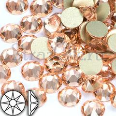 Купить стразы Xirius 8+8 граней Light Peach Silk в Москве оптом