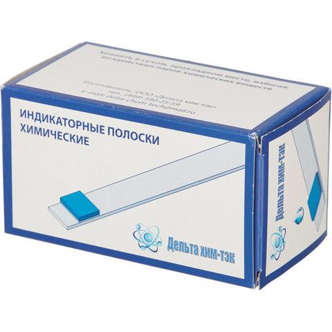 Индикатор концентрации рабочих растворов дезинфицирующего средства Алмадез (100 штук в упаковке)
