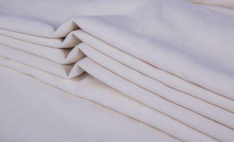 Штора готовая однотонная из портьерной ткани | цвет: молочный