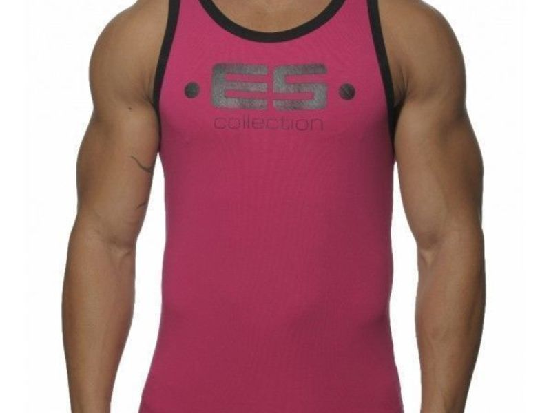 Мужская майка пурпурная ES COLLECTION TANK TOP MAGENTA