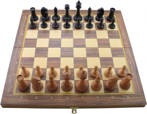 Шахматы Баталия большие утяжеленные