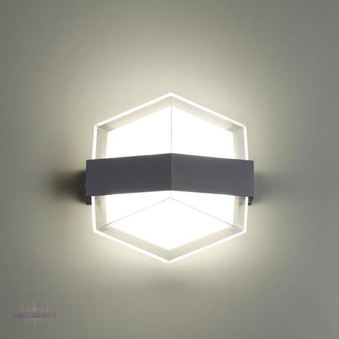 Уличный настенный светодиодный светильник 358575 серии KAIMAS