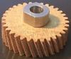 Зубчатое колесо с резьбой на втулке Liscop