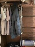 Складной каркасный тканевый шкаф Wardrobe closet 110х45х175 см