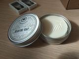 Органическое кремовое мыло для бритья
