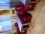 Чехол Жаккард на стул, цвет Бордовый