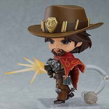 Колекційна фігурка Nendoroid OVERWATCH McCree: Classic Skin Edition Good Smile