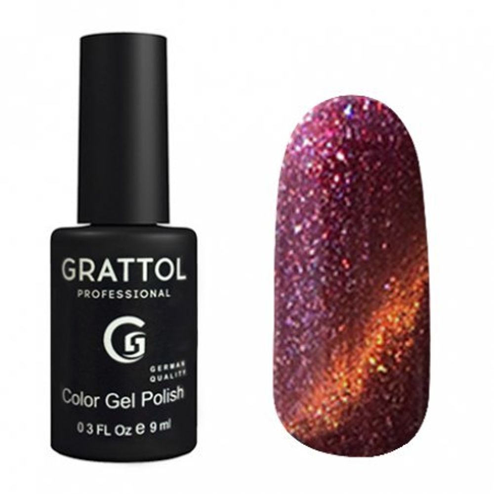 Grattol Color Gel Polish Magic №7 Ruby