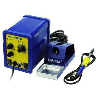 BAKU Rework Station BK-878 Hot air gun + Solder iron
