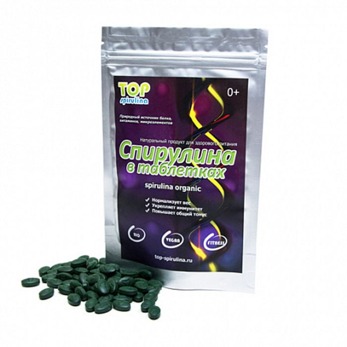 Спирулина в таблетках Top Spirulina