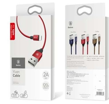 Baseus Cable Yiven For Micro 1M Red MOQ50 (CAMYW-A09)