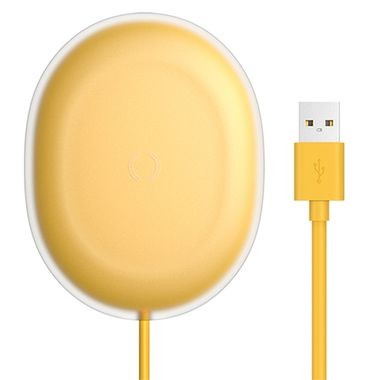 Baseus Wireless Charger Jelly 15W Yellow MOQ:10 (WXGD-0Y)