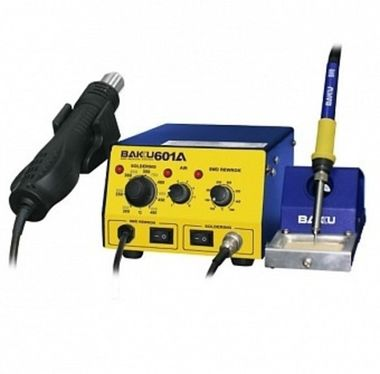 BAKU Rework Station BK-601A Hot air gun + Solder iron