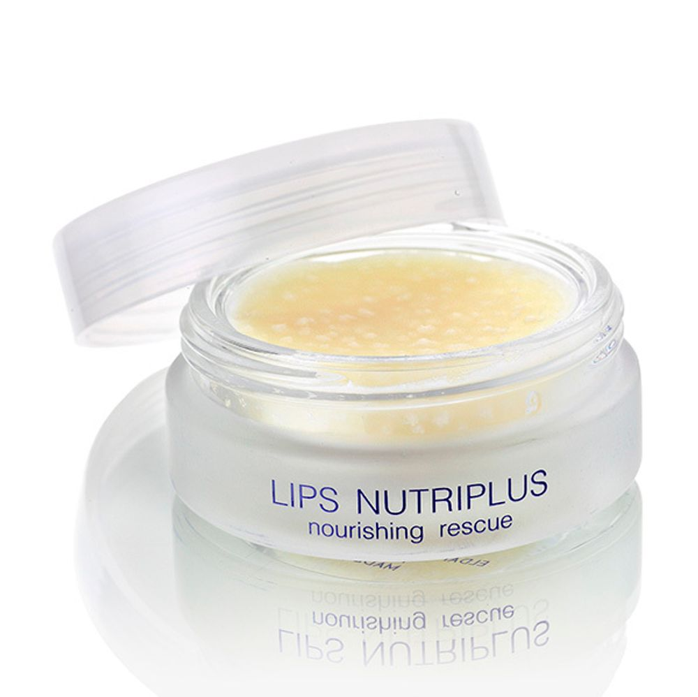 Питательный бальзам для губ Eldan Premium Lips Treatment Nutriplus Nourishing Reacue 15мл