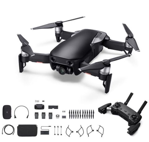 Квадрокоптер DJI Mavic Air Fly More Combo (Black/ Черный)