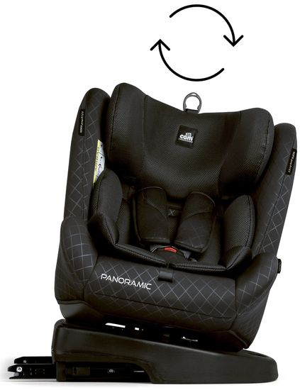 Автокресло Cam Panoramic IsoFix (0-36кг)