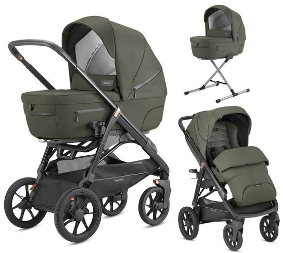 Коляска 2 в 1 Inglesina Aptica XT System Duo Sequoia Green