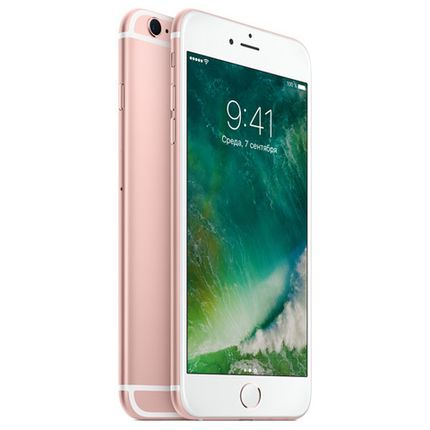 Смартфон Apple iPhone 6s Plus 64Gb Rose Gold (Восстановленный)