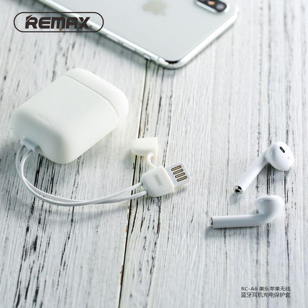 Чехол Remax RC-A6 cole protective cover Airpods charging case