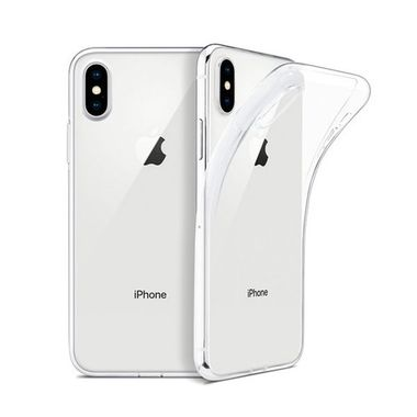 TPU 1.0mm Case for Apple iPhone XS Max 6.5' Transparent Black MOQ:100