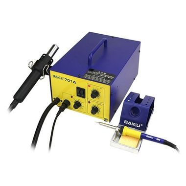 BAKU Rework Station BK-701A Hot air gun + Solder iron