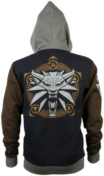 Худи JINX The Witcher 3 Runestone Zip-Up Hoodie Black