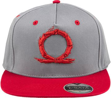 "Бейсболка God of War ""Serpent Logo"" (Snapback)"
