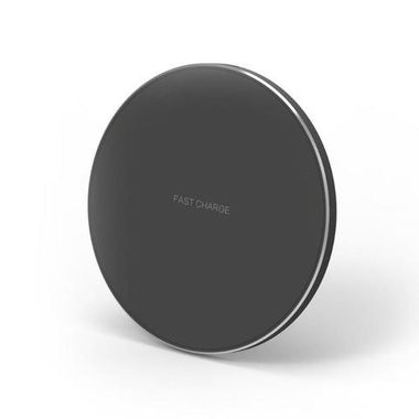 Wireless Charger 10W Max Ultra-Slim Silicone Pad MOQ:100 (GY-68)