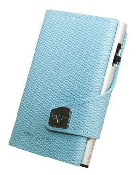 Кошелек CLICK&SLIDE Rhombus Light Blue