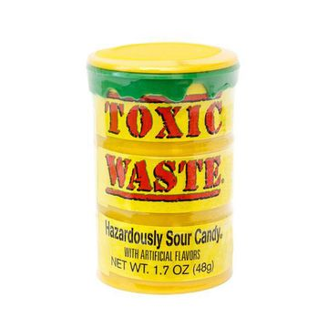 Леденцы Toxic Waste - Yellow