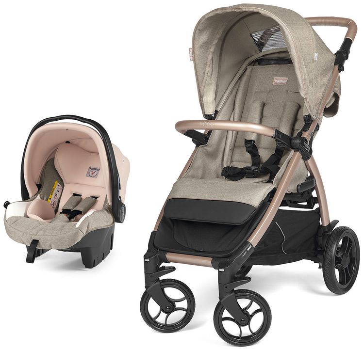 Коляска 2 в 1 Peg Perego Booklet 50 Travel System Mon Amour