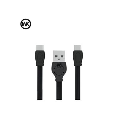WK Cable Fast Series For Type-C 1M Black MOQ:80 (WDC-023a)