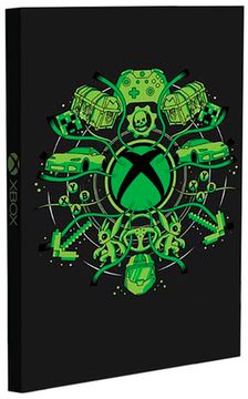 Записная книжка Xbox Light Up Notebook CDU of 12