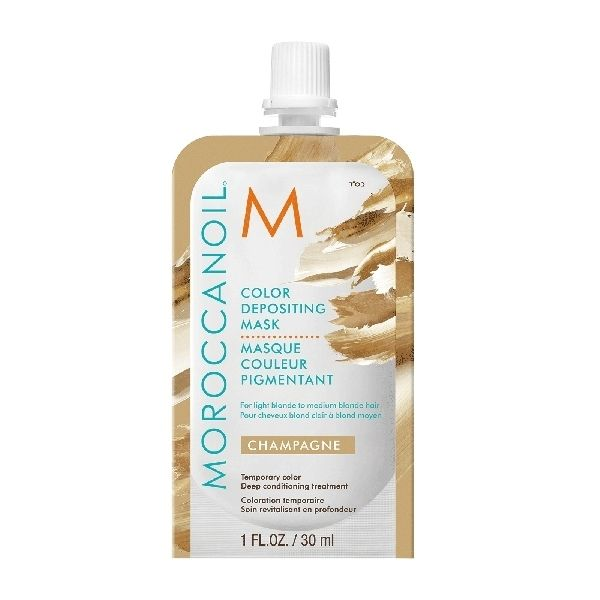 Moroccanoil Color Depositing Mask Champagne Тонирующая маска (шампань) 30 мл