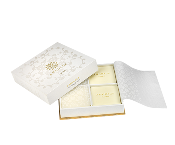 Amouage Gold woman soap 4x50гр
