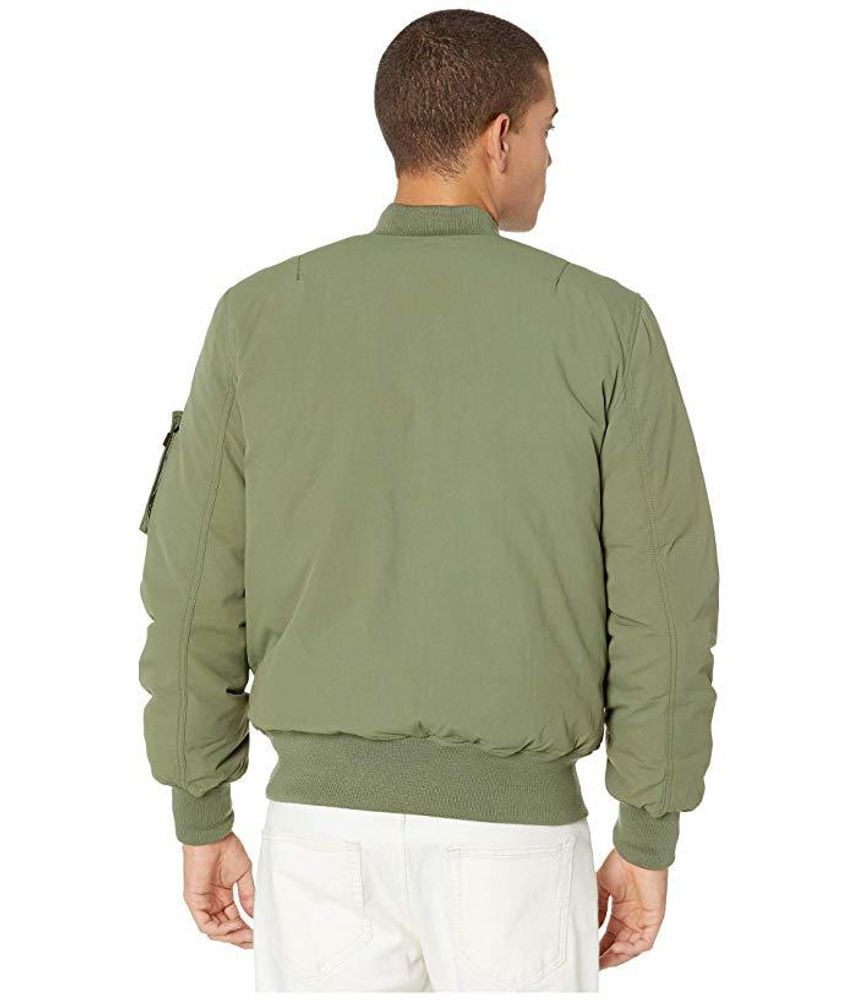 Alpha Industries MA-1 Down Flight Jacket Sage Green/Black